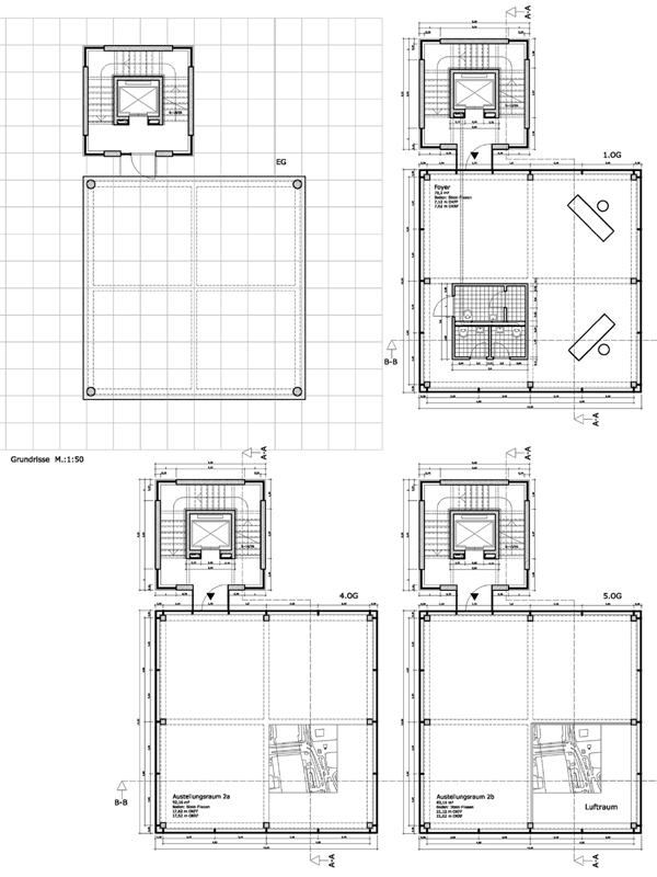 Treppenhaus mit aufzug grundriss  Dominik B. Matthes